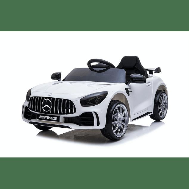 Mercedes AMG GTR Blanco