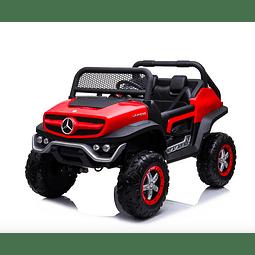 Buggy Unimog Mercedes Rojo
