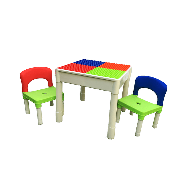Set mesa + sillas Block Multicolor