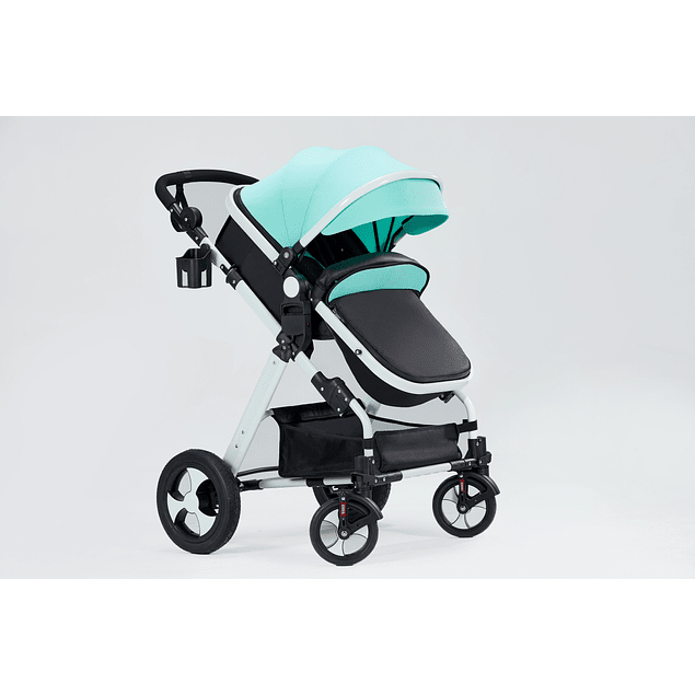 Coche cuna Travel System Fresh Blue