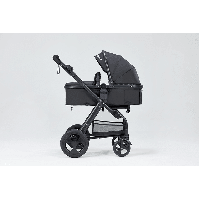 Coche cuna Travel System Negro