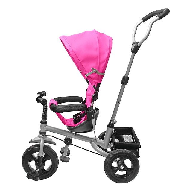 Triciclo 360  Stroller Rosado