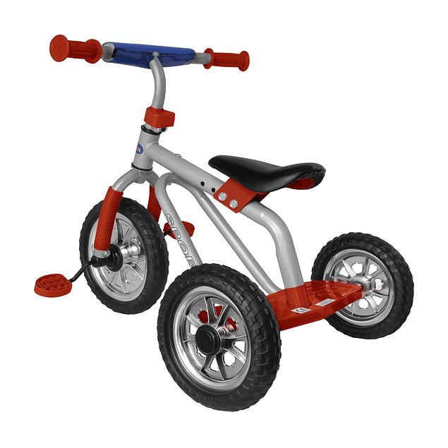 Triciclo Clásico Rojo