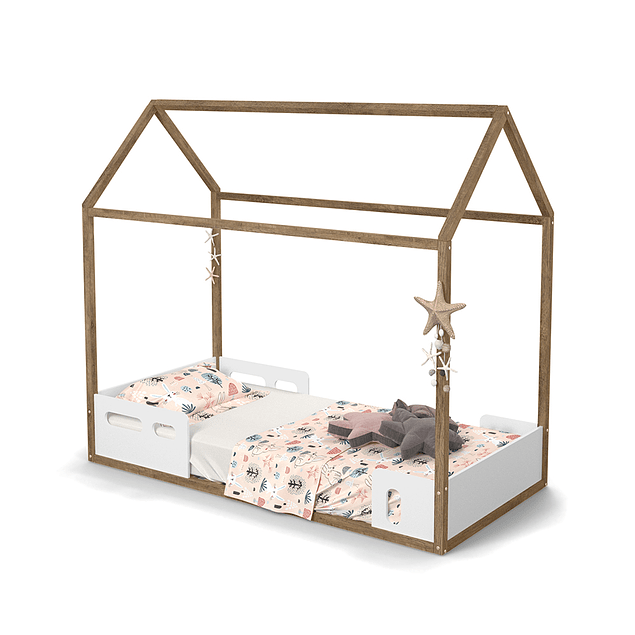 CAMA CASITA LIV ECO WOOD