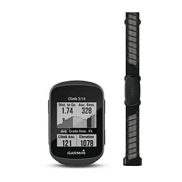 Ciclocomputador GPS Edge 130 Plus HRM Bundle, Garmin