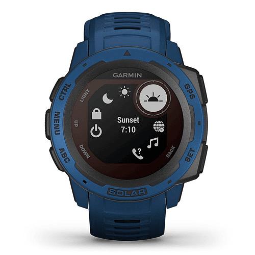 Reloj Instinct Solar Tidal Blue, Garmin