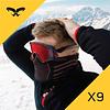 X9 Mascarilla deportiva para el frío, Naroo