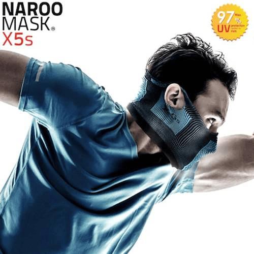 X5s Mascarilla deportiva sin cuello, Naroo