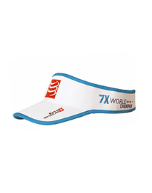 Visera 25x world champion blanca, Compressport