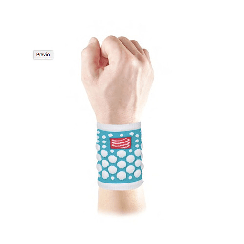 Muñequera 3d Dots colores, Compressport