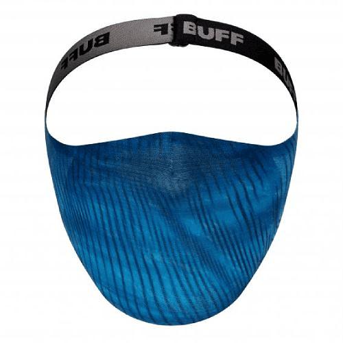 Keren Blue Mascarilla deportiva con filtro, Buff