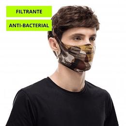 Burj Multi Mascarilla deportiva con filtro, Buff