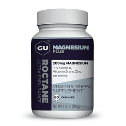 Cápsulas Roctane Magnesio plus Energy, Gu