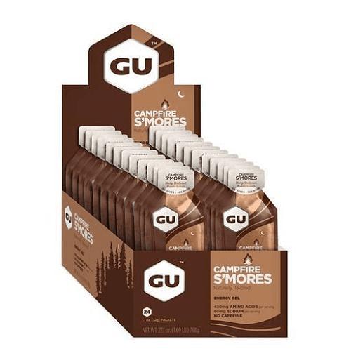 Energy Gel sin cafeína Campfire S'mores (24 unid), GU