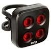 BLINDER MOB THE FACE TWINPAK BLACK (Frontal y trasera), knog