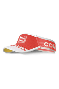 Visera ultralight v2 25x roja , Compressport