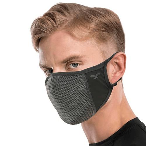 NOU Mascarilla deportiva extra respirable gris, Naroo
