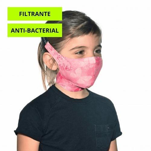Nympha Pink Mascarilla niño con filtro, Buff