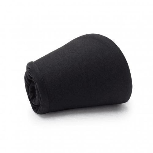 R-Solid Black Pack Run Cap, Buff