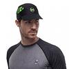 R-Flash Negro Pack Run Cap Logo, Buff