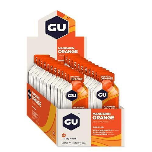 Energy Gel Mandarin Orange (24 Unid), Gu