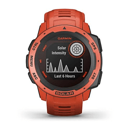 Reloj Instinct Solar Flame Red, Garmin