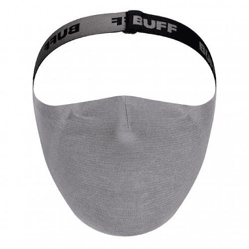Solid Grey Sedona Mascarilla deportiva con filtro, Buff