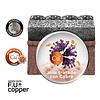 FU+ Copper Grey Mascarilla deportiva anti-microbiana, Naroo