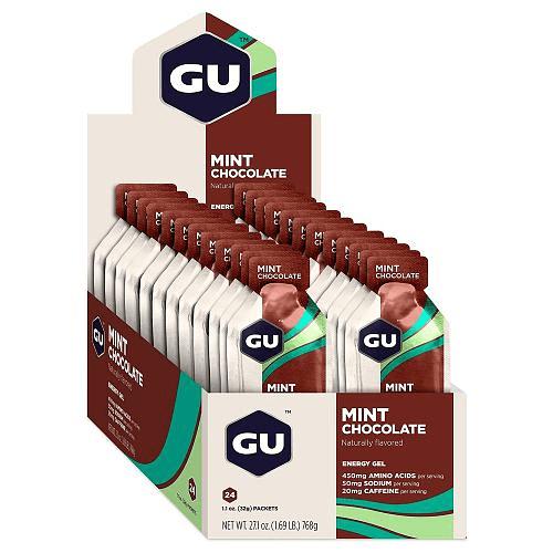 Energy Gel Mint Chocolate (24 unid), GU
