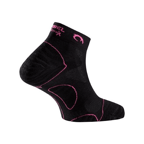 Calcetines Running Negro/Fucsia Tiwar W, Lurbel