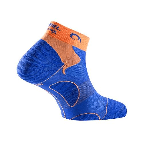 Calcetines Running Unisex Royal Blue/Orange Tiwar, Lurbel