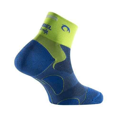 Calcetines Running Unisex Royal Blue/Pistacho Distance, Lurbel