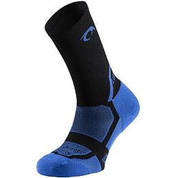 Calcetín Running unisex azul, Lurbel