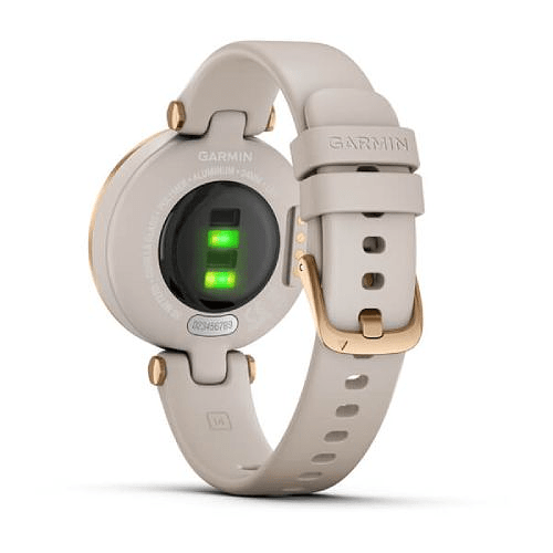 Lily Rose Gold Light Sand Silicone, Garmin