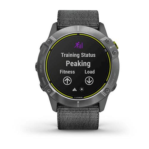 Reloj multisport Enduro Steel Grey, Garmin