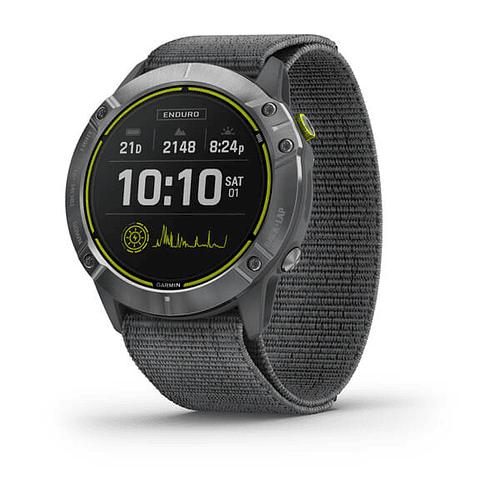 (Pre-venta) Reloj multisport Enduro Steel Grey, Garmin