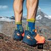 Calcetines de Trail Running Pro Racing Socks v3.0 Blue/Lime, Compressport