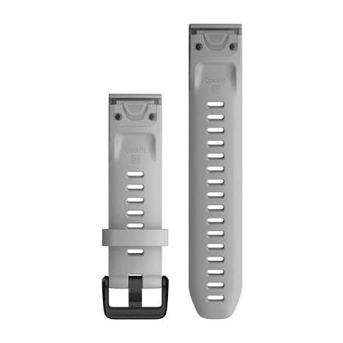 Correa QuickFit Silicona Powder Gray 20mm ( Fenix 6s/5s), Garmin