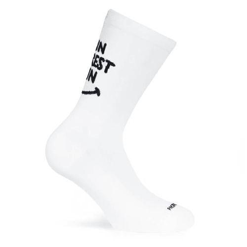 Socks Forrest Run White, Pacific
