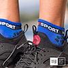 Pro Racing Socks Run Low v3.0 Blue Lolite, Compressport