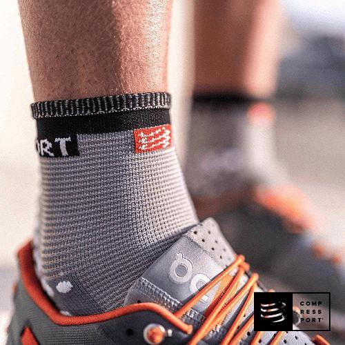 Pro Racing Socks v3.0 Running Grey Melange, Compressport