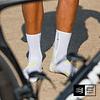 Pro Racing Socks Bike v3 White/Lime, Compressport