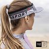 Nueva Visera Ultralight Grey Melange, Compressport