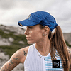 Nuevo Pro Racing Cap Blue Melange, Compressport