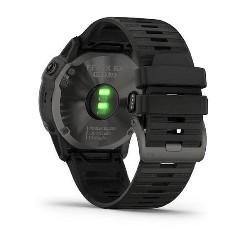 Fenix 6X Pro Solar Titanium Carbon Gray DLC, Garmin