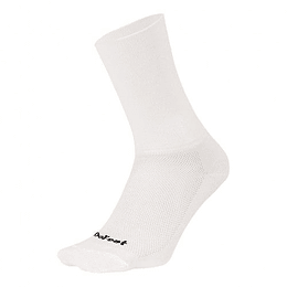Calcetin Aireator D-Logo White (Double Cuff), DeFeet