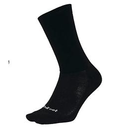 Calcetin Aireator D-Logo Black (Double Cuff), DeFeet