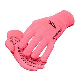 Guantes Hi-Vis Pink Cordura Black Grippies, DeFeet