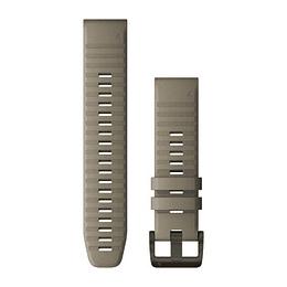 Correa QuickFit Silicona Dark Sandstone Fenix 5/6 (22mm), Garmin