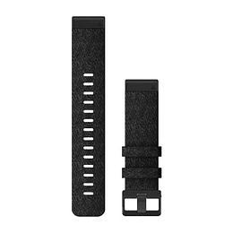 Correa QuickFit Nylon Negro Jaspeado 22mm ( fenix 6/5 Plus)